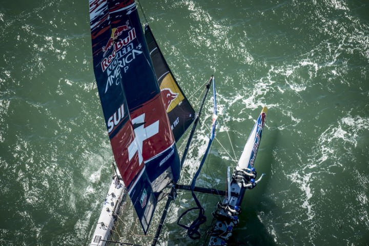Red Bull Youth America's Cup – heli shoot
