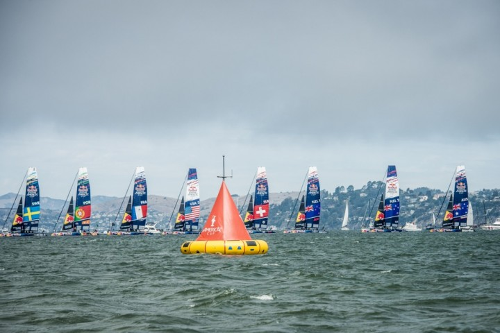 Red Bull Youth America's Cup – flotte