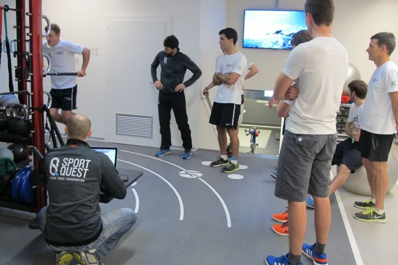 Physical tests and season's launch for Team Tilt this weekend