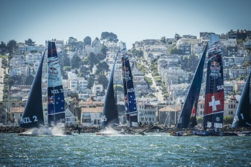 Médaille en chocolat pour Team Tilt à la Red Bull Youth America's Cup