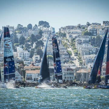 Switzerland's Team Tilt finishes fourth at Red Bull Youth America's Cup just 1 point off the podium