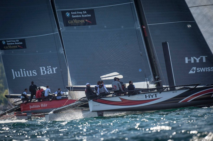 Podium finish for Team Tilt at Open du Yacht Club de Genève