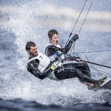 Trofeo Princesa Sofia : good job of the 49er team in Palma
