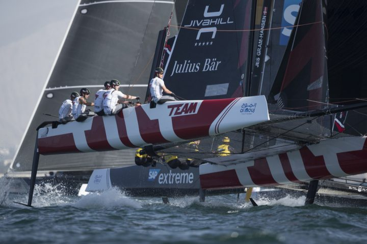 Extreme Sailing Series Act1