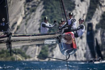 Brilliant day for Team Tilt at the GC32 Riva Cup