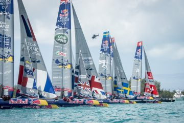 Team Tilt in second place going into final day of the Red Bull Youth America's Cup