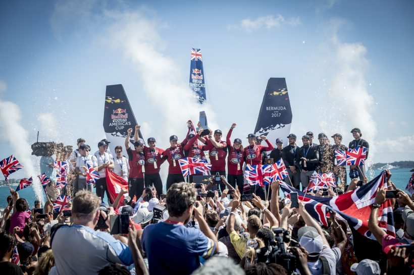 Stunning podium finish for Team Tilt at Red Bull Youth America's Cup