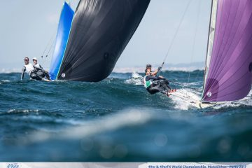 An excellent 13th for Sebastien and Lucien at the 49er Words