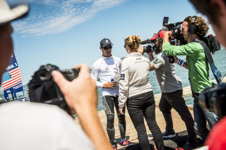 Red Bull Youth America's Cup – interview Lucien Cujean