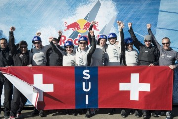 Team Tilt, Switzerland's Youth America's Cup team qualifies