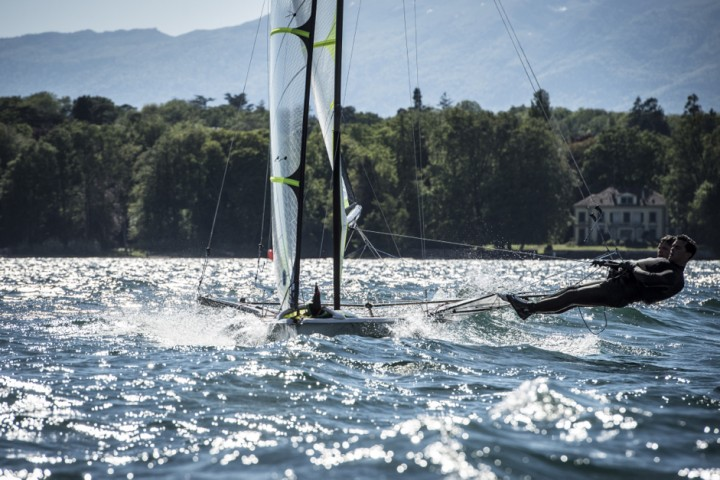 49er training Lac Leman – Geneva