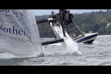 Team Tilt Sailing nosedive