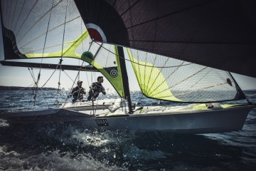 Team Tilt supports Swiss Sailing Team