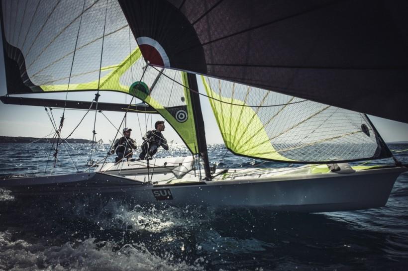 Team Tilt supports Swiss Sailing Team