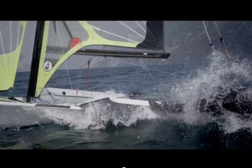49er – training Lake Garda