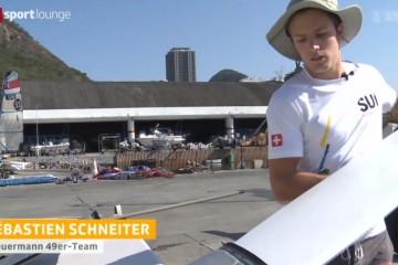 SRF Sport Lounge – interview Sebastien Schneiter