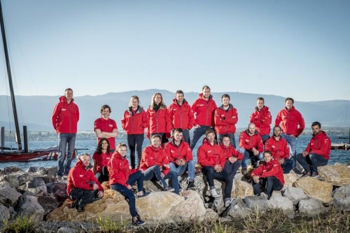 L'équipe 2016 au complet