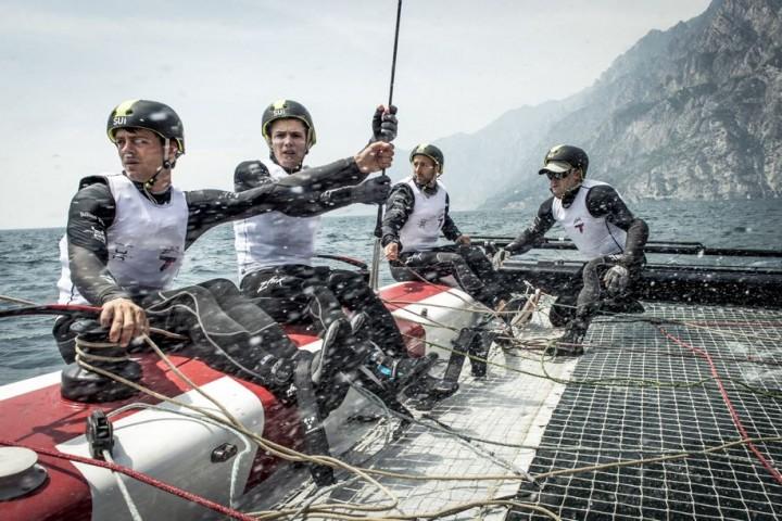 Team Tilt Riva Italie