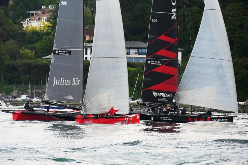 Team Tilt termine troisième de la Genève-Rolle-Genève