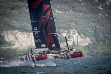 Good start for Team Tilt in Malcesine for the GC32 Racing Tour
