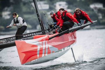 Team Tilt youth squad victory confirms form at Yacht Club de Genève D35 Grand Prix