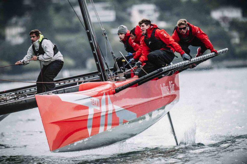 Vainqueur du Grand-Prix du Yacht Club de Genève, Team Tilt confirme sa bonne forme avec un jeune équipage prometteur