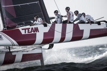 Extreme Sailing Series à Oman : Team Tilt flirte avec les meilleurs