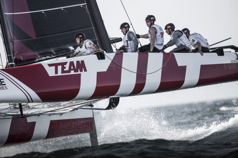 Extreme Sailing Series in Oman : Team Tilt flirts with the best teams