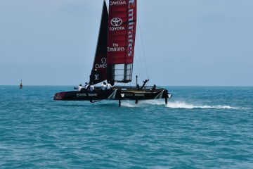 Team Tilt is foiling in Bermuda !