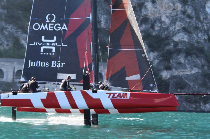 Full on for the GC32 Racing Tour 2017 start