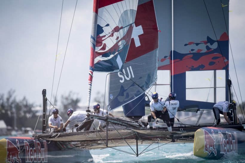 Team Tilt will proudly represent Switzerland at the Red Bull Youth America's Cup finals