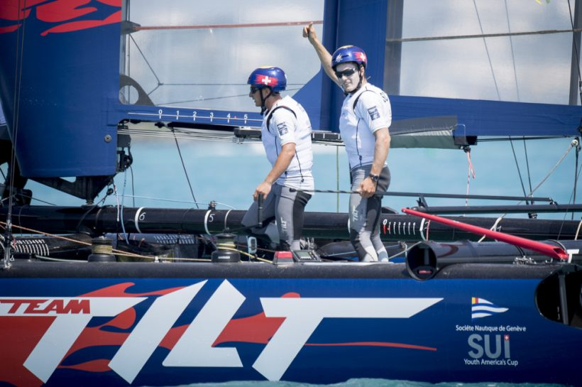Team Tilt qualifies for the Red Bull Youth America's Cup finals !