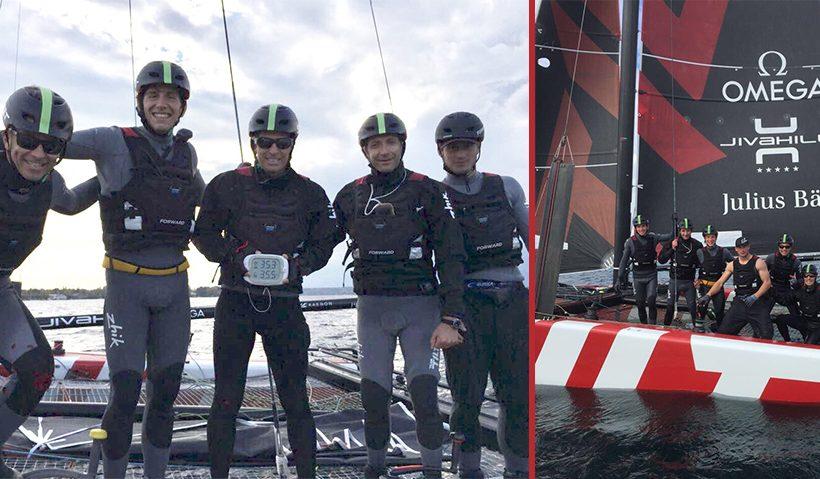 New speed records on Lake Geneva for Team Tilt