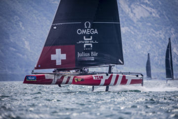 GC32 World Championships: Team Tilt returns to Lake Garda and to foiling