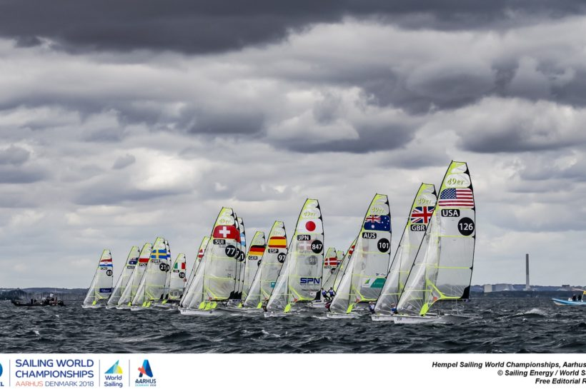 4th at the 49er Worlds with 3 races left