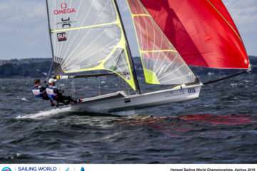 Switzerland qualified for Tokyo in the 49er class !