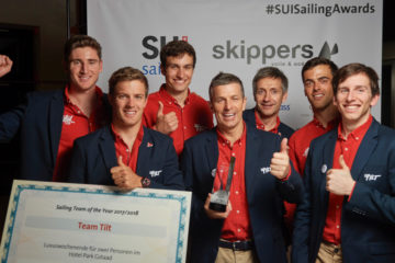 Sailing team of the year !
