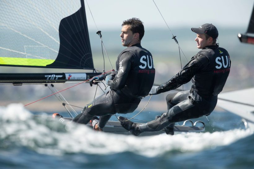 Showing their best at 49er Europeans