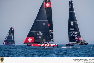 Team Tilt finishes second at GC32 World Championships