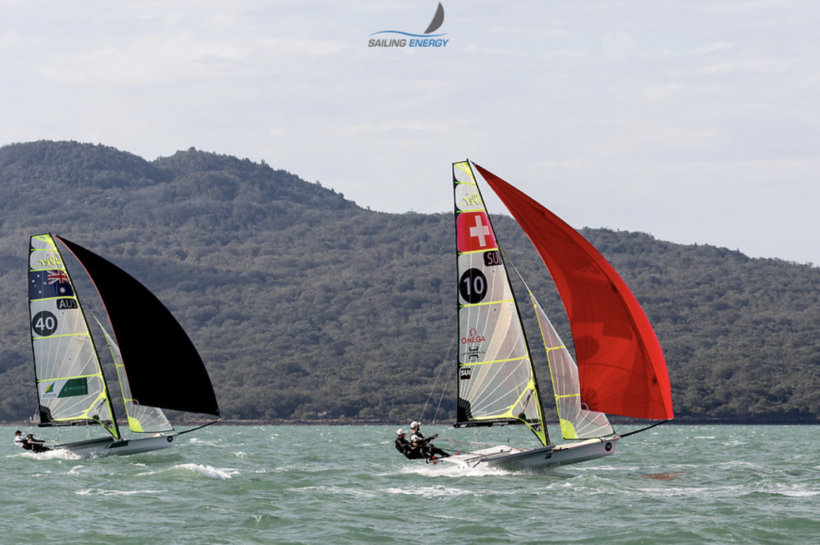 Follow the 49er World Championships in New Zealand