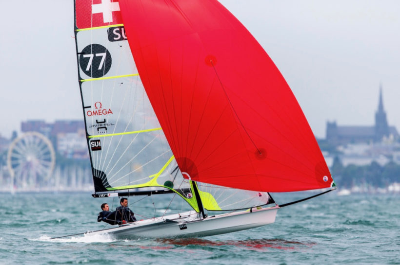Sébastien and Lucien reach their personal qualification result at the 49er World Championships