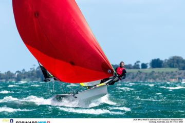 A successful Oceania championship as the perfect warm-up before the 49er worlds