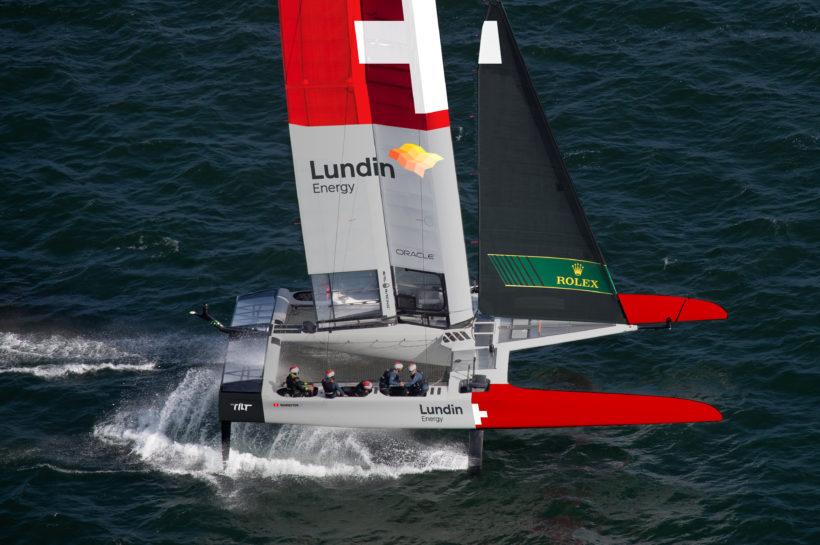 Switzerland SailGP Team joins the world's leading sailing league